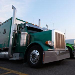 Truck-in-Parking-Lot