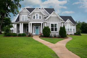 Blog - New and Modern colorful Craftsman Cottage House with Curb Appeal