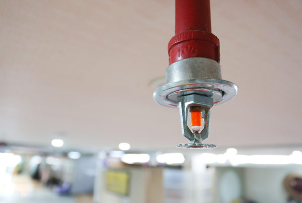 Blog - Sprinkler systems – Effective when maintained